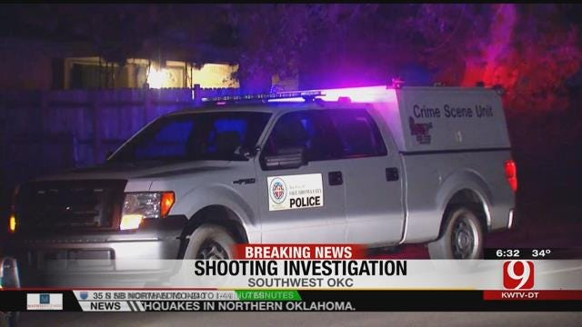 Police Investigate Shooting That Injured 2 In Southwest OKC