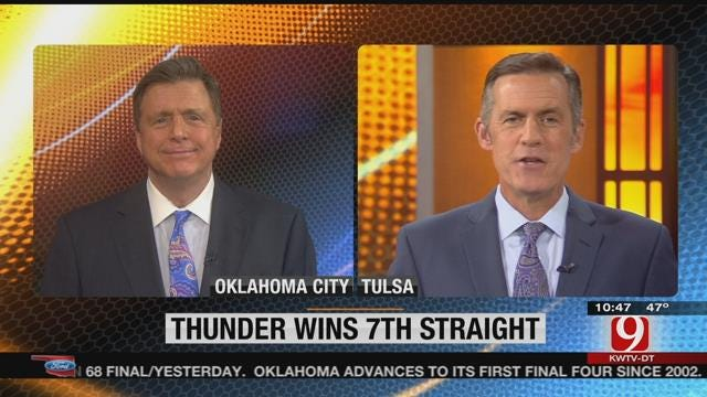 Catching Up With The Thunder