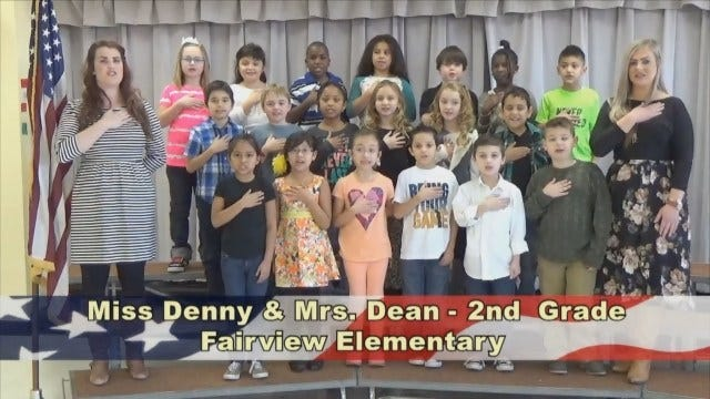 Miss Denny and Mrs. Dean's 2nd Grade Class At Fairview Elementary