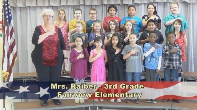 Mrs. Raiber's 3rd Grade Class At Fairview Elementary