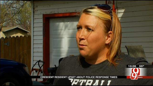 Crescent Residents Upset About Police Response Times
