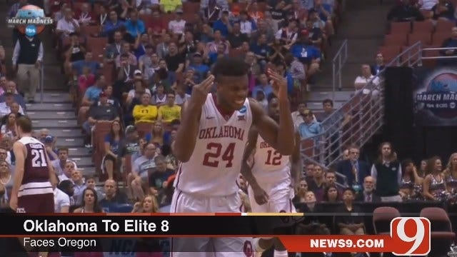 WEB EXTRA: Oklahoma Dances On To Elite 8