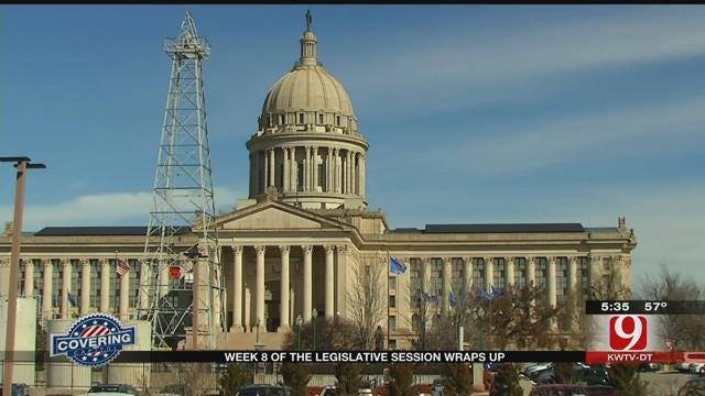 Week 8 Of The Legislative Session Wraps Up