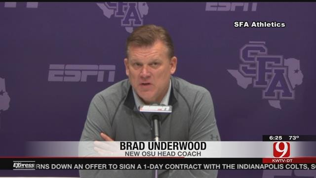 Brad Underwood Named OSU's New Head Basketball Coach