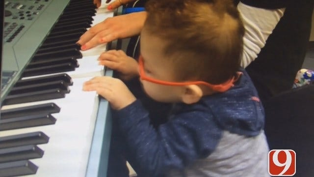 Oklahoma Toddler Healing Through Musical Therapy