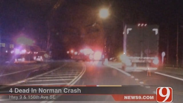 Four Killed In Two-Car Accident In Norman