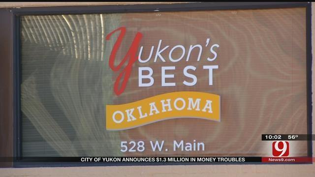 City Of Yukon Announces $1.3 Million In Money Troubles