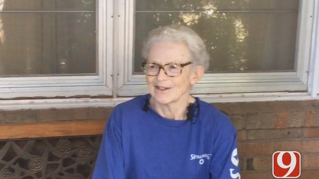 WEB EXTRA: Elderly Woman Speaks Out After Being Attacked At Lake Overholser