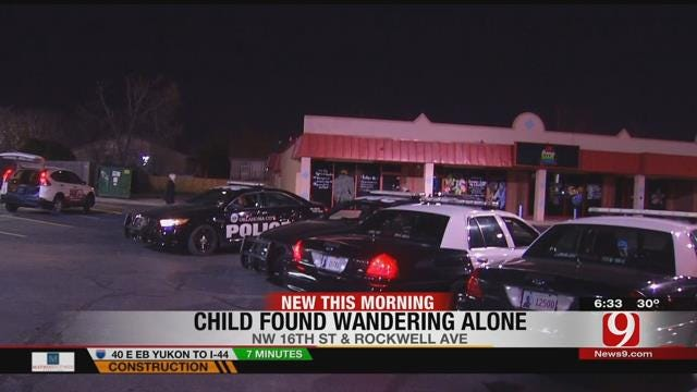 Five-Year-Old Girl Found Wandering Through OKC Streets