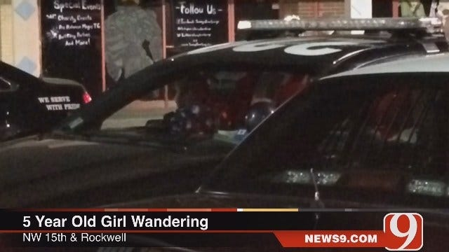 Five-Year-Old Girl Found Wandering Through Streets