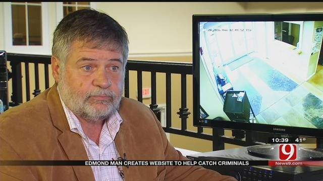 Edmond Man Uses Interactive Website To Track, Solve Crime