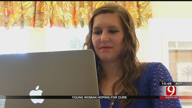Young Woman Goes To Germany In Hopes Of Finding A Cure