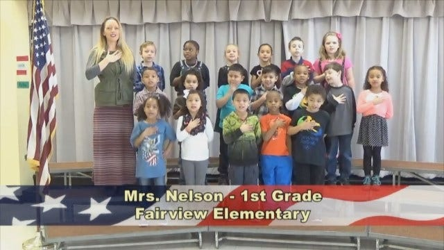Mrs. Nelson's 1stGrade Class At Fairview Elementary