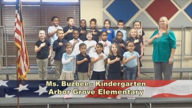 Ms. Buzbee's Kindergarten Class At Arbor Grove Elementary