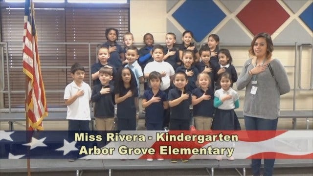 Miss Rivera's KindergartenClass At Arbor GroveElementary