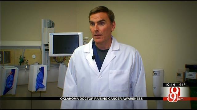 Oklahoma Doctor Raising Colon Cancer Awareness