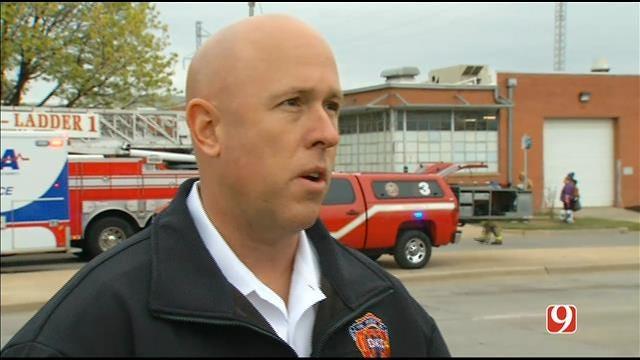WEB EXTRA: OKC Fire Spokesperson Benny Fulkerson Speaks About Balcony Collapse