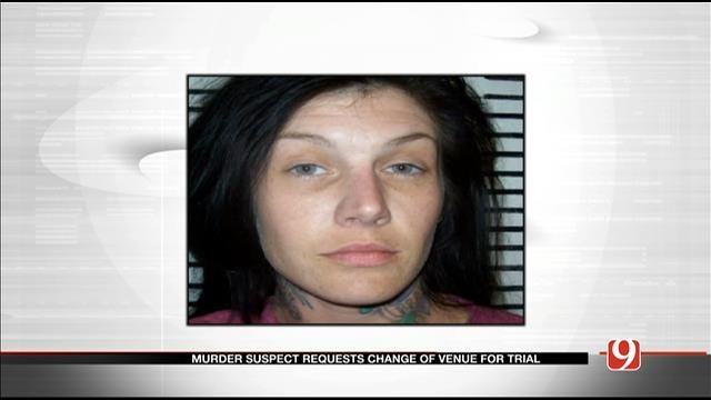 Garvin Co. Murder Suspect Requests Change Of Venue For Trial