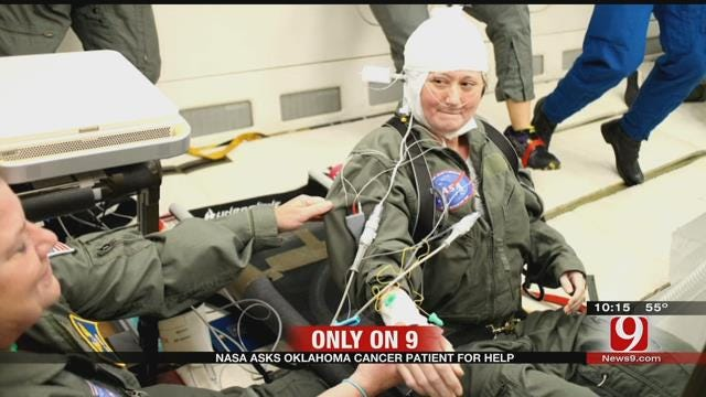 Oklahoma Cancer Patient Flies Into Zero Gravity