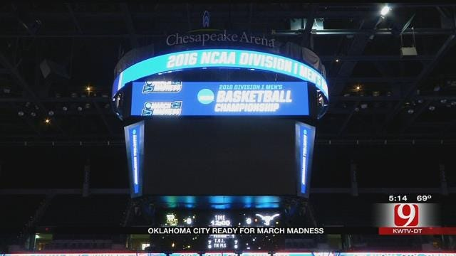 OKC Ready For March Madness