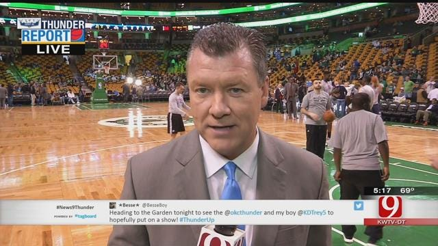 Thunder Start Road Trip In Boston With Celtics Matchup