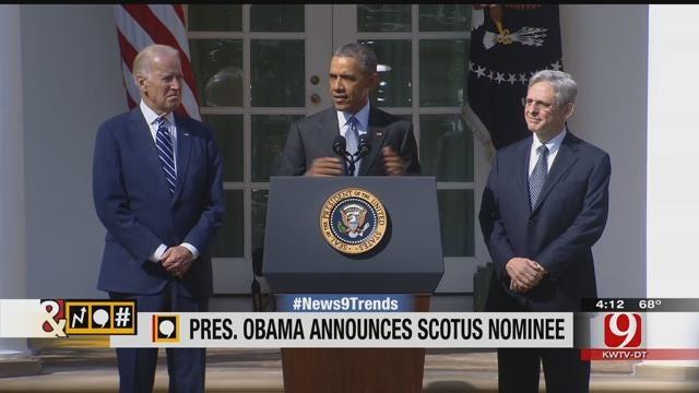 Trends, Topics & Tags: Obama Nominates Merrick Garland For Vacant SCOTUS Seat
