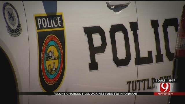 Felony Charges Filed Against Fake FBI Informant
