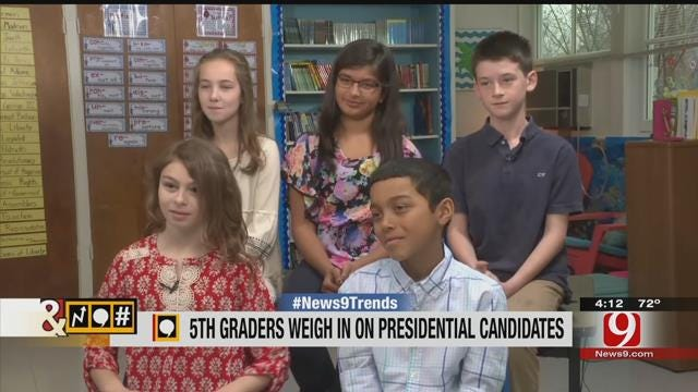 Trends, Topics & Tags: 5th Graders Offer Insight on 2016 Presidential Election