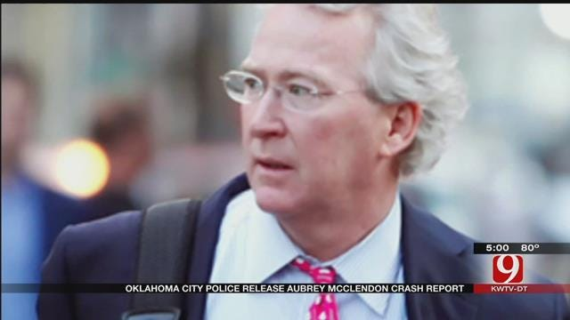 OKC Police: Aubrey McClendon Did Not Try To Slow Down