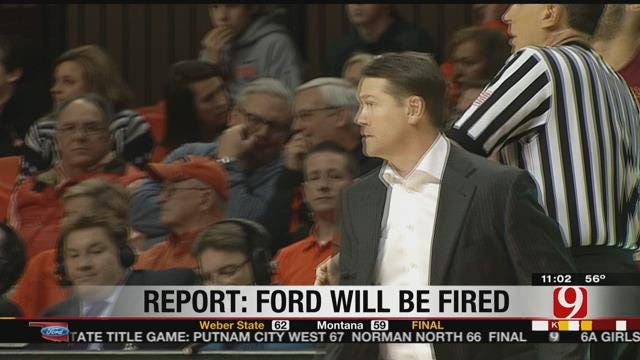 Report: OSU Expected To Part With Travis Ford