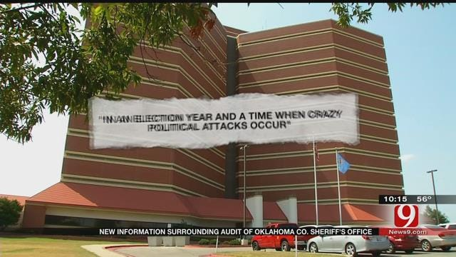 New Information Surrounding Oklahoma Co. Sheriff's Office Audit