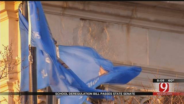 School Deregulation Bill Passes In Oklahoma Senate