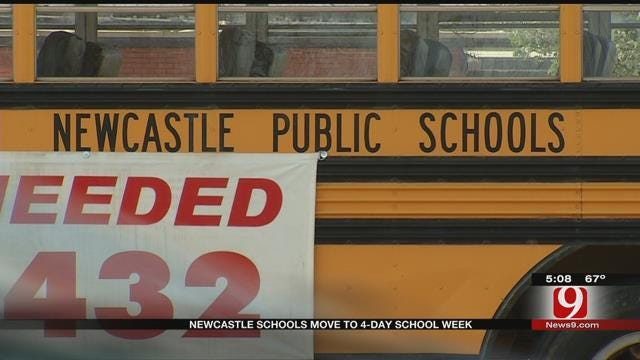 Newcastle Public Schools To Make The Move To 4-Day School Week