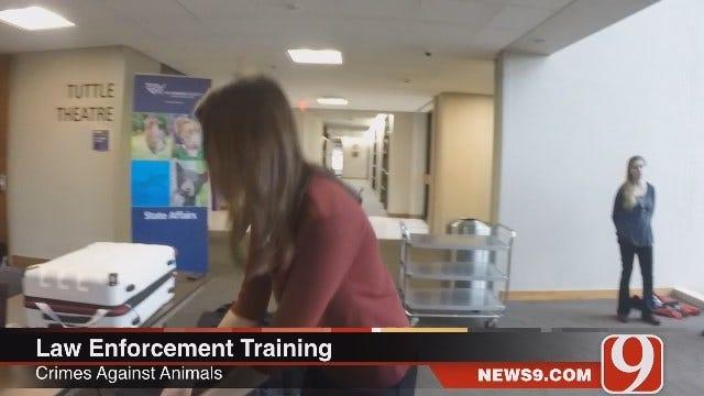 Oklahoma Law Enforcement Training To Investigate Animal Cruelty Crimes