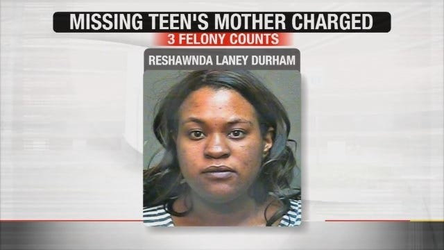 Mother Of Missing Metro Teen Facing Felony Child Neglect Charges