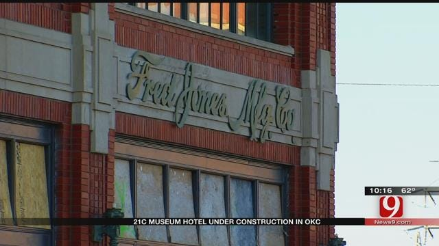 Historic OKC Building To Become City's First Museum Hotel