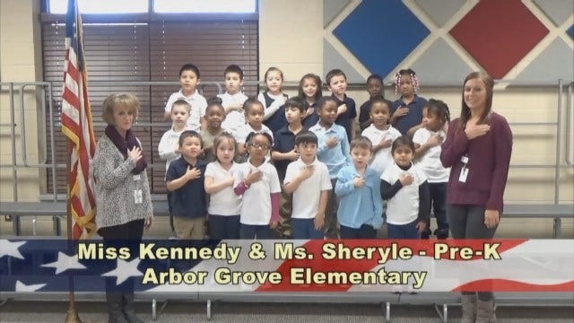 Miss Kennedy and Ms. Sheryle's Pre-KindergartenClass At Arbor Grove Elementary