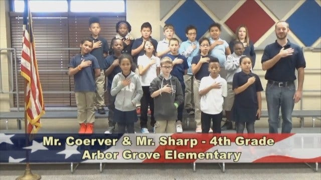 Mr. Coerver and Mr. Sharp's 4th Grade Class At Arbor Grove Elementary