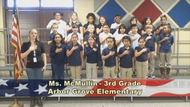 Ms. McMullin's 3rd Grade Class At Arbor Grove Elementary
