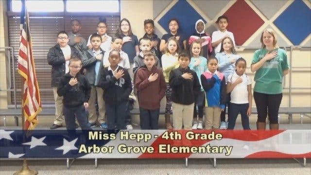 Miss Hepp's4th Grade Class At Arbor Grove Elementary