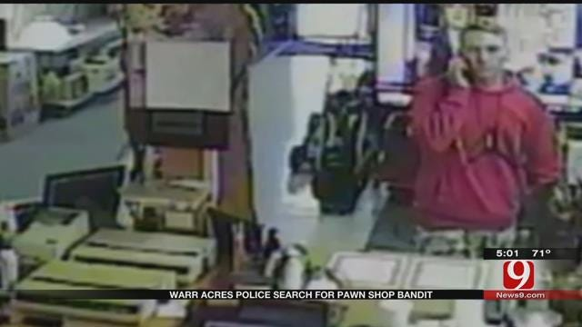 Warr Acres Police Searching For Pawn Shop Bandit