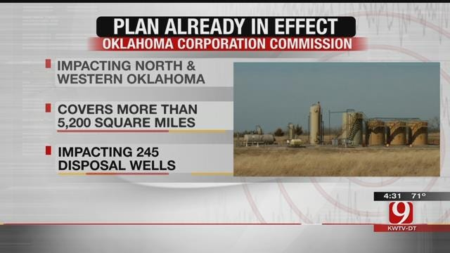 OCC To Announce New Regional Plan Concerning Earthquakes In Central OK