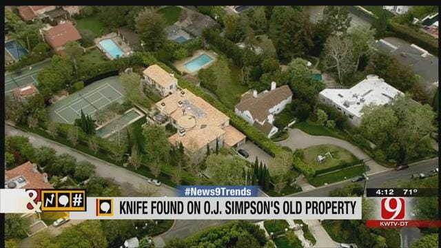 Trends, Topics & Tags: LAPD Discover Knife Buried On OJ Simpson Property