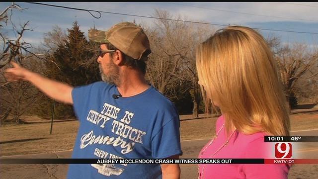 Witness Shares Account Of Aubrey McClendon Crash