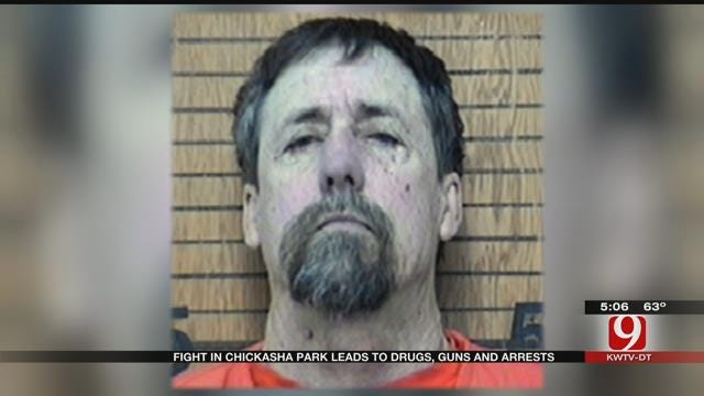 Fight In Chickasha Park Leads To Drugs, Guns, Arrests