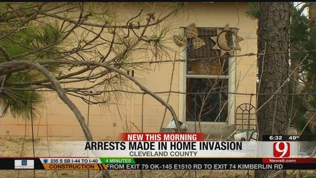 Two Suspects Arrested In Connection To Deadly Home Invasion In Newalla