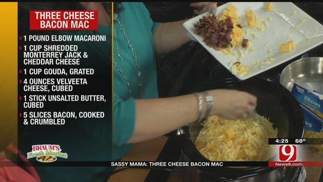 Three Cheese Bacon Mac