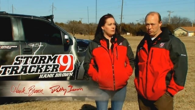 News 9 Stormtrackers Hank and Patty Brown