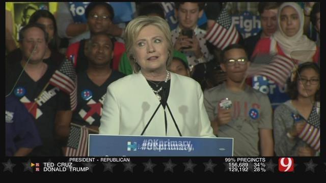 Clinton Widens Delegate Lead On Sanders Despite Loss In OK
