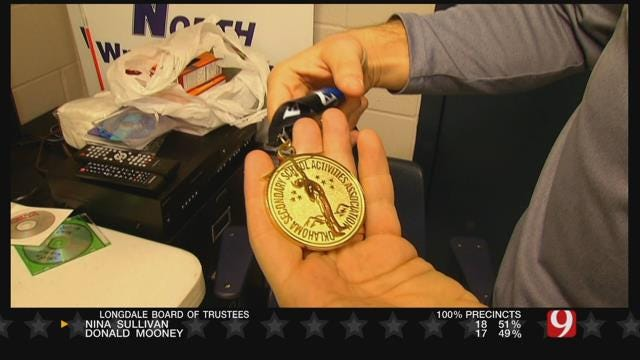 HS Wrestler Honors Friend With Medal